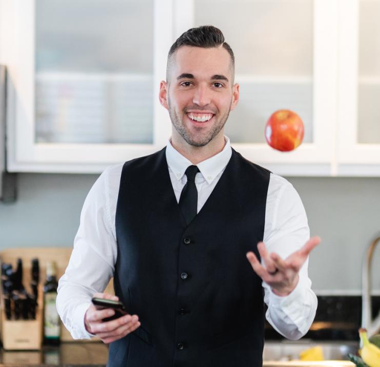 Tony Stephan, Registered Dietitian