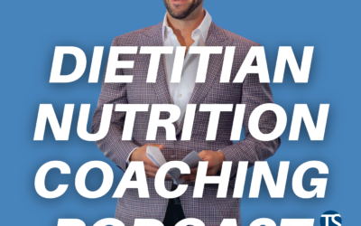 Overcoming Imposter Syndrome And Starting Your Nutrition Coaching Business With Tony Stephan – Dietitian Nutrition Coaching Podcast Ep.116
