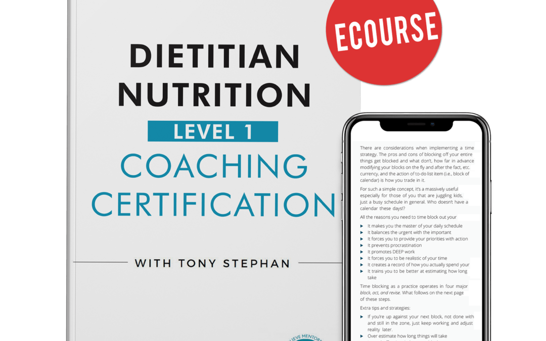 The Best Nutrition Coach Certification For Registered Dietitians